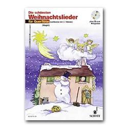 Die schönsten Weihnachtslieder 1-2 Flöten/CD