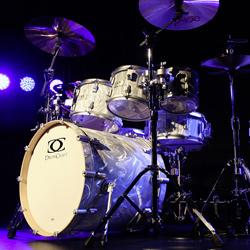 DrumCraft DCB711-22RO-LC Drumset Liquid Chrome