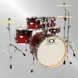 DrumCraft Fusion Drumset CRF