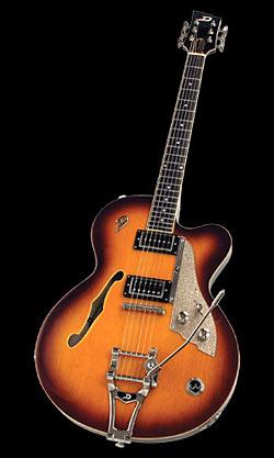 Duesenberg Carl Carton E-Gitarre 2-Tone Sunburst