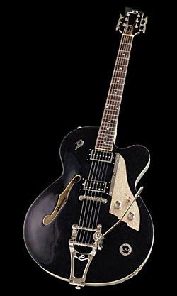 Duesenberg Carl Carton E-Gitarre Black