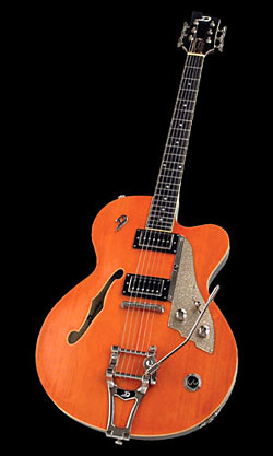 Duesenberg Carl Carton E-Gitarre Trans-Orange