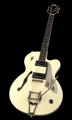 Duesenberg Carl Carton E-Gitarre Vintage-White