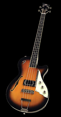 Duesenberg Starplayer Bass 2-Tone Sunburst