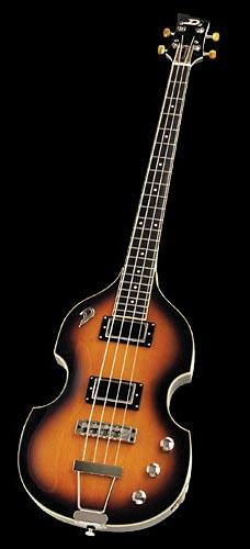 Duesenberg Violin Bass 2-Tone Sunburst