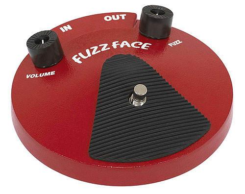 Dunlop JD-F2 Fuzz Face - Classic Round Shape