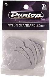 Dunlop Plektren Nylon Standard Set 0,60