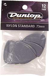Dunlop Plektren Nylon Standard Set 0,73