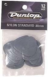 Dunlop Plektren Nylon Standard Set 0,88
