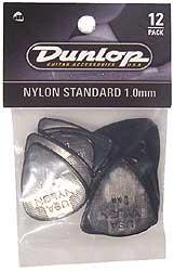 Dunlop Plektren Nylon Standard Set 1,00