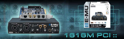 E-MU 1616 m PCI Audio-Interface