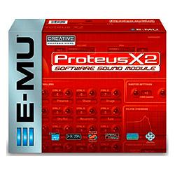 E-MU Proteus X2 mit Midi-Interface