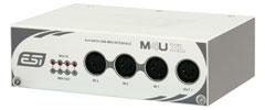 ESI M4U XL USB Midi Interface 4in/4out