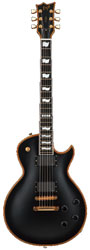 ESP Eclipse I CTM FT Vintage Black E-Gitarre