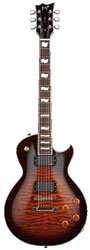 ESP Eclipse II Dark Brown Sunburst E-Gitarre
