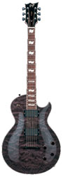ESP Eclipse II See Thru Black E-Gitarre
