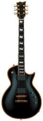 ESP Eclipse II USA Vintage Black E-Gitarre