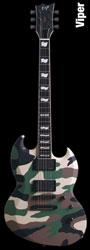 ESP Viper Camo E-Gitarre