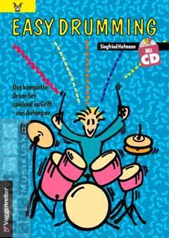 Easy Drumming - Siegfried Hofmann mit CD