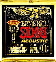 Ernie Ball EB-2156 Acoustic Coated Titanium Saiten 012-054