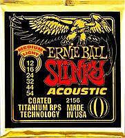 Ernie Ball EB-2156 Acoustic Coated Titanium Saiten 012-054