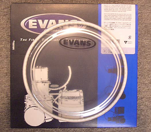 Evans EC1 clear 08'' Tom Fell einlagig