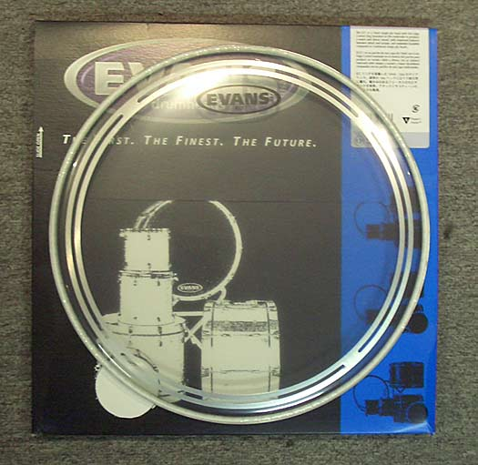 Evans EC1 Clear 13'' Tom Fell einlagig