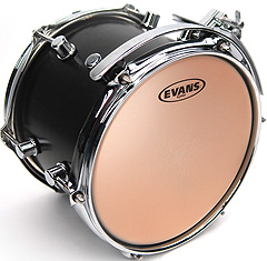 "Evans 14"" Genera Plus clear"