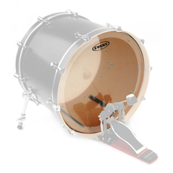 Evans EQ3 Clear Bass Drum 22""