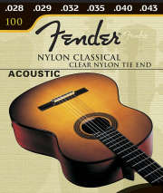 Fender 130 Nylon Saiten mit Ball End