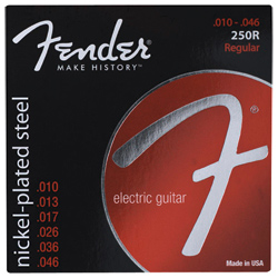 Fender Super 250R NPS Ball End E-Gitarren Saiten 10-46