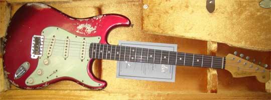 Fender Custom Shop 60 Stratocaster Heavy Relic RW CAR