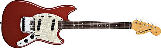 Fender 65 Mustang RW Dakota Red