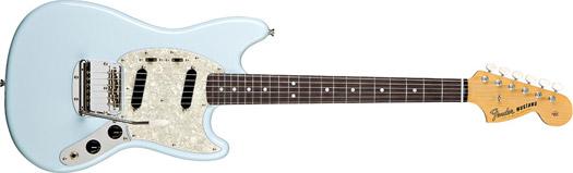 Fender 65 Mustang RW Daphne Blue
