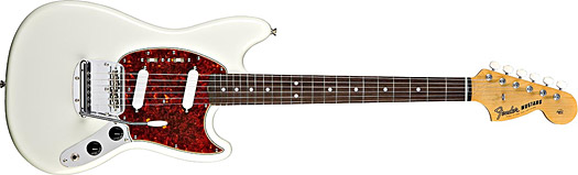 Fender 65 Mustang RW Olympic White