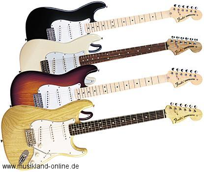 Fender 70s Classic Stratocaster MN 3TSB