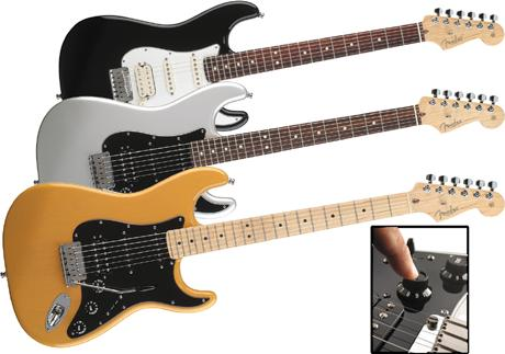Fender AM Stratocaster HSS - MN Black