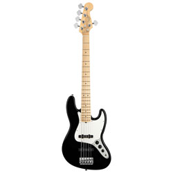 Fender American Standard Jazz Bass V MN BK