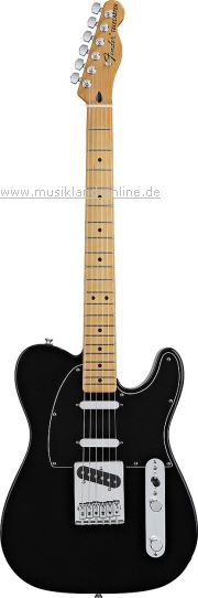 Fender Blackout Telecaster DLX MEX