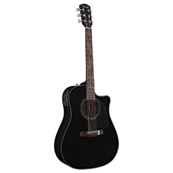 Fender CD110CE BK Westerngitarre