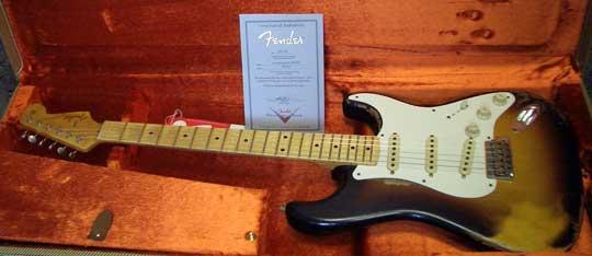 Fender Custom Shop 57 Stratocaster MN 3TS Heavy Relic