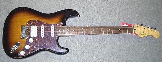 Fender Deluxe Power Stratocaster mit Piezo/Fishman RW 2TS