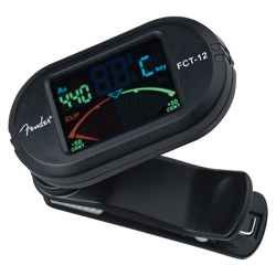 Fender FCT-012 Color Clip-On Tuner