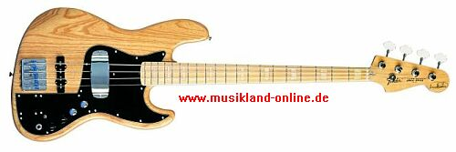 Fender Marcus Miller Signature Jazz Bass MN natur