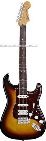 Fender Lone Star Stratocaster DLX RW 3TS