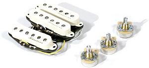 Fender Noiseless Vintage Single Coil Strat Pickup Set black