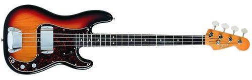 Fender Precision Bass American ´62 Vintage RW 3CS