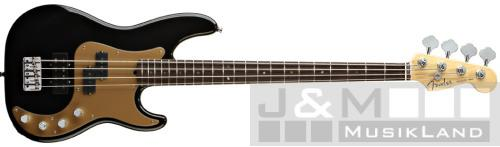 Fender Precision Bass American Deluxe RW Black