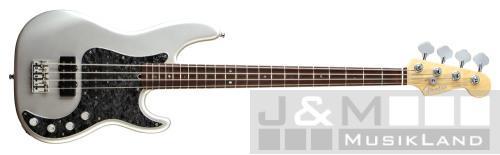 Fender Precision Bass American Deluxe RW Silver