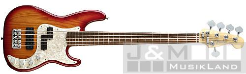Fender Precision Bass American Deluxe V Ash RW AC
